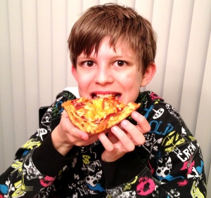 Pizza tester!